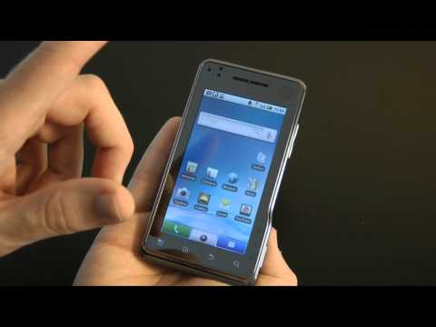 Video: Motorola Milestone XT720 Mobile Phone Unboxing &amp; Review
