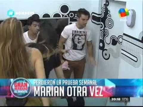 """""""Gran Hermano 2015"""": De esta manera, Marian perdía la prueba semanal"""