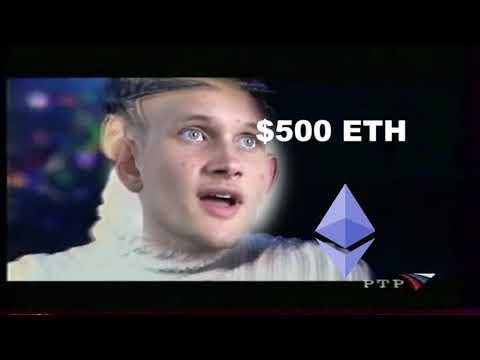 Ethereum $500 - Vitalik in ecstasy