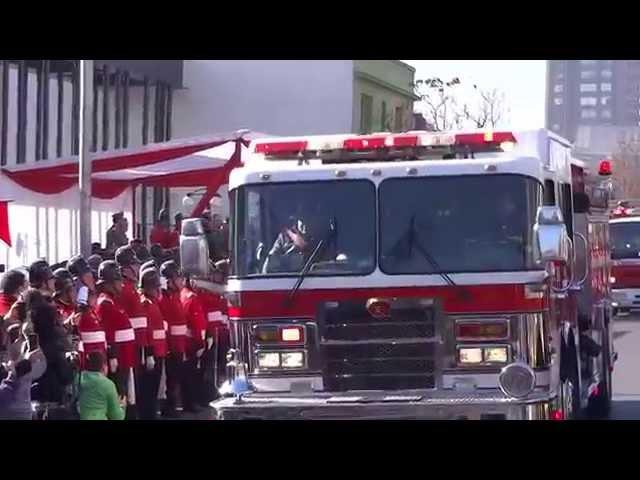 Cuerpo de Bomberos de Ñuñoa - Desfile 2014