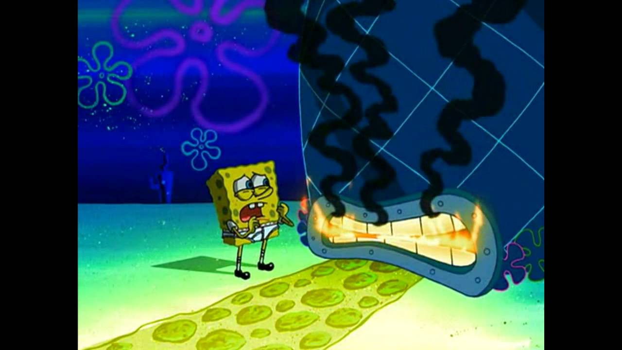 Spongebob dont you have an essay to write
