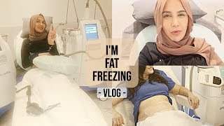 ad I'M FAT FREEZING TODAY WITH COOLSCULPTING - COME WITH ME! | Amena's Family Vlog 66