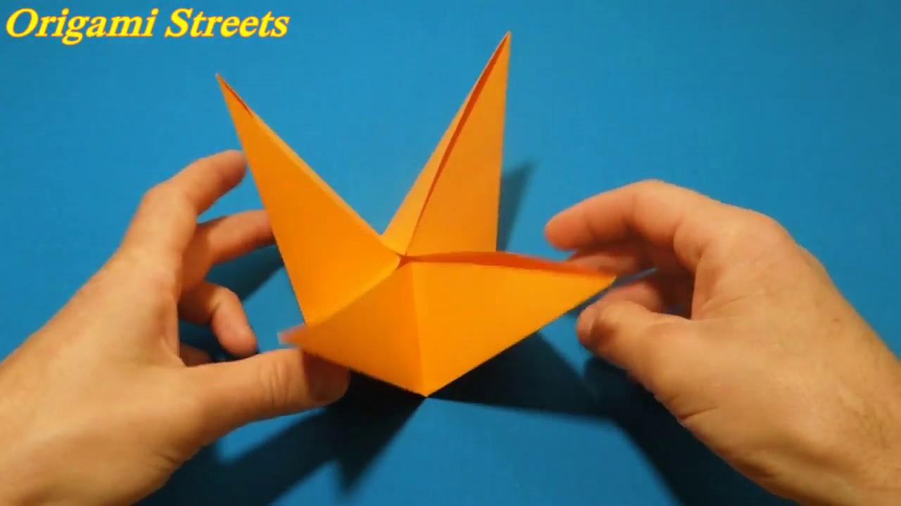 Поделка из бумаги оригами без клея 216