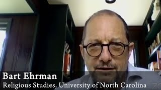 Video: Palestine had a 97% illiteracy rate. Jesus' disciples, poor, lower class labourers could not read or write - Bart Ehrman