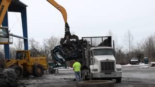 Liebherr Scrap Machines in Action.