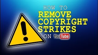 How To Remove a Copyright Strike/Content Creator ID from your YouTube Account