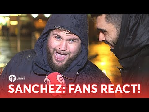 Fans React to ALEXIS SANCHEZ SIGNING FOR MANCHESTER UNITED!