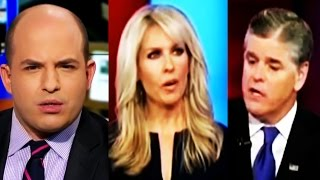 CNN: Brian Stelter GOES HARD At Sean Hannity for His Ridiculous Monica Crowley Interview