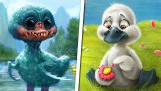 The Messed Up Origins of The Ugly Duckling | Fables Explained - Jon Solo