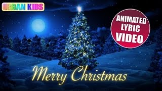 SILENT NIGHT ► HOLY NIGHT (LYRIC) (MOST FAMOUS CHRISTMAS SONG)