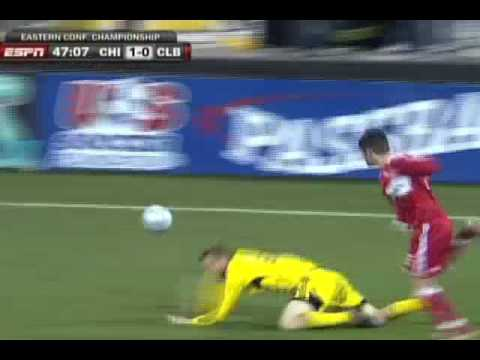MLS EASTERN CONF. CHAMPIONSHIP: Chicago Fire @ Columbus Crew Video