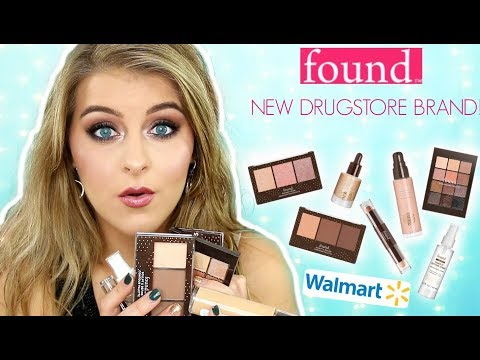 FOUND BEAUTY   NEW BRAND at WALMART!   Full Face of Reviews