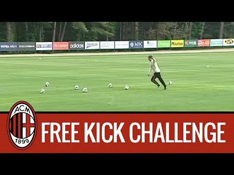 Allegri vs Gabriel: Free Kick Challenge!
