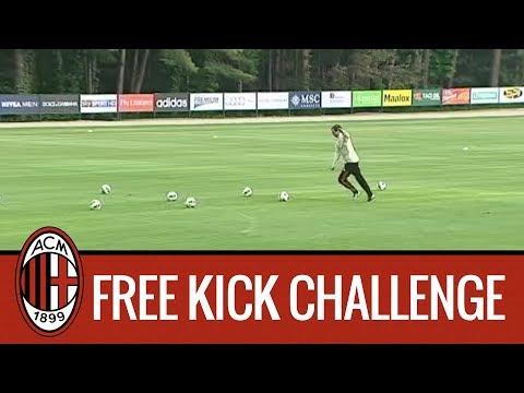 Allegri vs Gabriel: Free Kick Challenge!