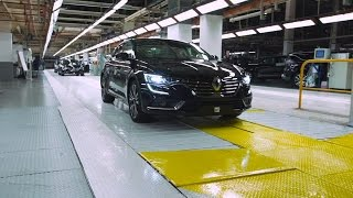 Renault Talisman manufacturing at Douai plant, France