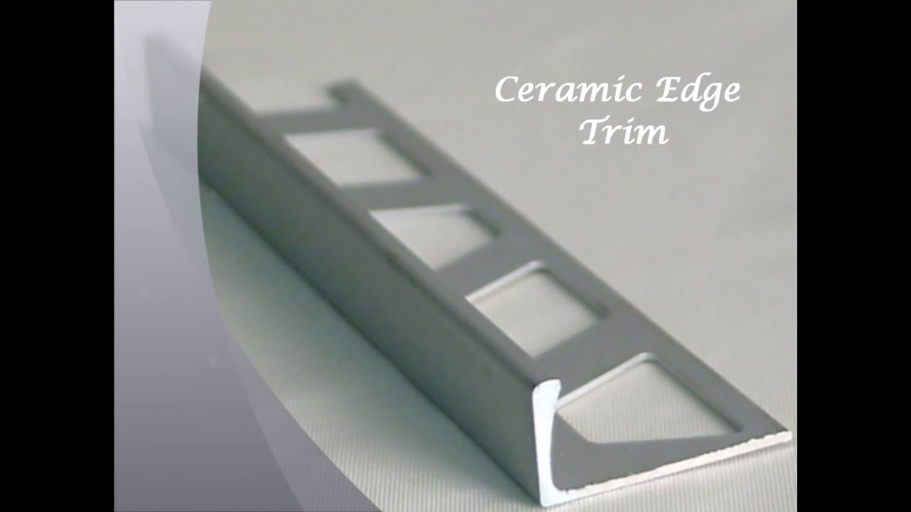 Aluminium Tile Trim Aluminiumpark Youtube