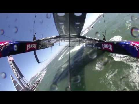 34th AmericasCup 2013 FinalsSeries Race08 New Zealand Rolls Radio Sport Commentary