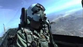 F/A-18 Hornet Dogfight Kill on Mig-21 Plus Bombing Gulf War