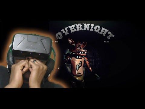 OverNight FREE ROAM (Demo) FNAF FAN GAME | Oculus Rift  DK2 Horror Game