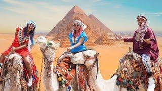 NOS DISFRAZAMOS DE EGIPCIOS PARA PODER ENTRAR A LAS PIRÁMIDES DE GIZA EGIPTO  POLINESIOS VLOGS