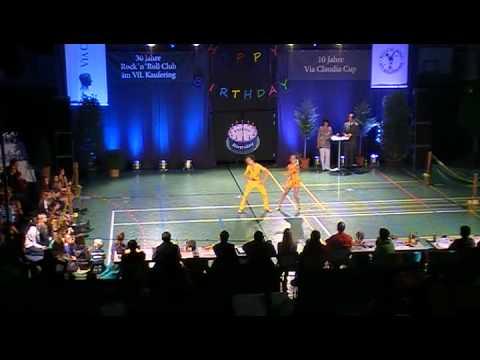 Jasmin Hapfelmeier & Max Draszczyk - Via Claudia Cup 2011