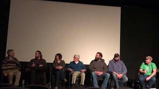 Q&A Farmers For America film screening Fairfield Iowa Feb 18, 2018