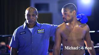 Mike Tyson - Michael and Son Behind The Scenes Super Bowl 2016 Commercial