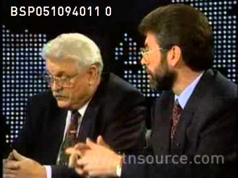 Larry King - 1994 GERRY ADAMS AND KEN MAGINNIS DEBATE PT1