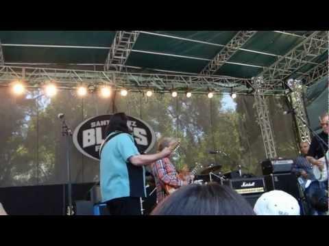 Elvin Bishop, Jimmy Thackery, Coco Montoya 2012 Santa Cruz blues fest