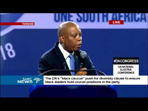 Herman Mashaba at 2018 DA Federal congress