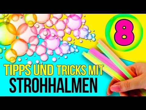 8 Tipps Und Tricks Mit Strohhalmen 8 Dinge Die Sie Mit Strohhalmen