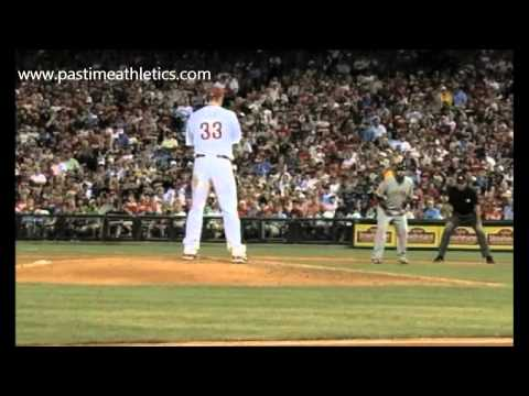Cliff Lee Slow Motion Pitching Mechanics - Baseball Instruction Phillies MLB Drills Tips Velocity