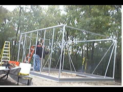 Harbor Freight Greenhouse Assembly