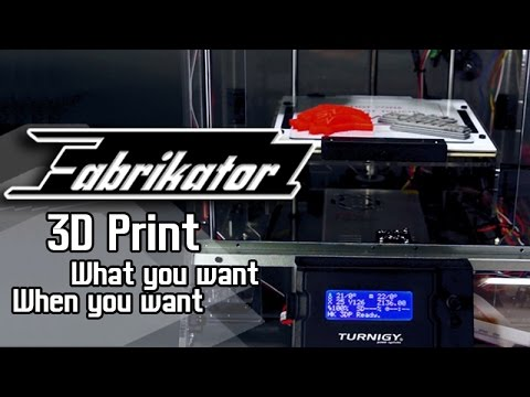 Turnigy Fabrikator 3D Printer - HobbyKing Product Video