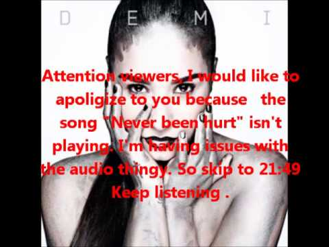 Demi Lovato - Demi Full Album (Lyrics)