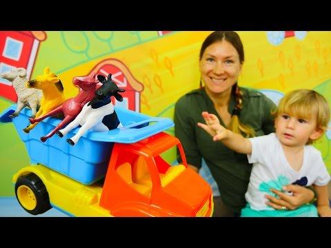 Развивающее видео для малышей. Учимся считать до 5 вместе