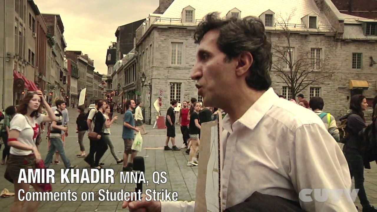 AMIR KHADIR - MNA Quebec Solidaire