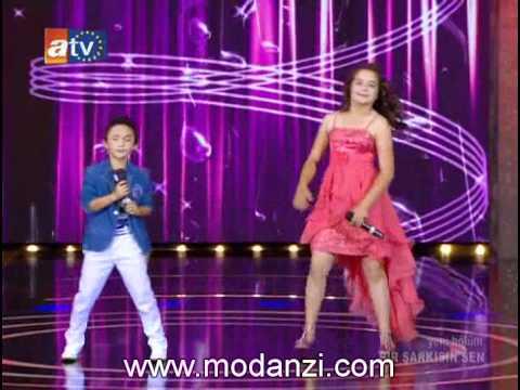 Bir Şarkısın Sen 07.07.2012 | Berna & Veli - Kara Kaş Gözlerin Elmas | www.modanzi.com.tr