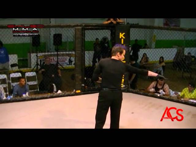 EXILED MMA and ACSLive.TV PRESENTS Phillip Von Root vs Eric Bruce