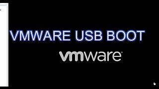 Vmware Usb Boot Yöntemi
