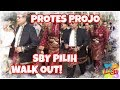 Protes ProJo, SBY Baper dan WO dari Kampanye Damai, KPU Geleng-geleng Kepala