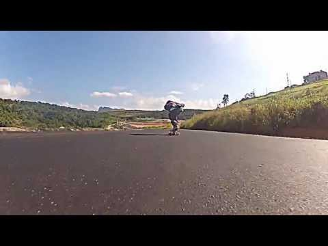 Drop da BR - Fernandinha - 11 anos - Skate downhill speed feminino gopro - Rubim Downhill