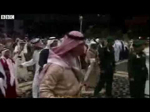 Prince Charles Joins In Saudi Arabian Sword Dance