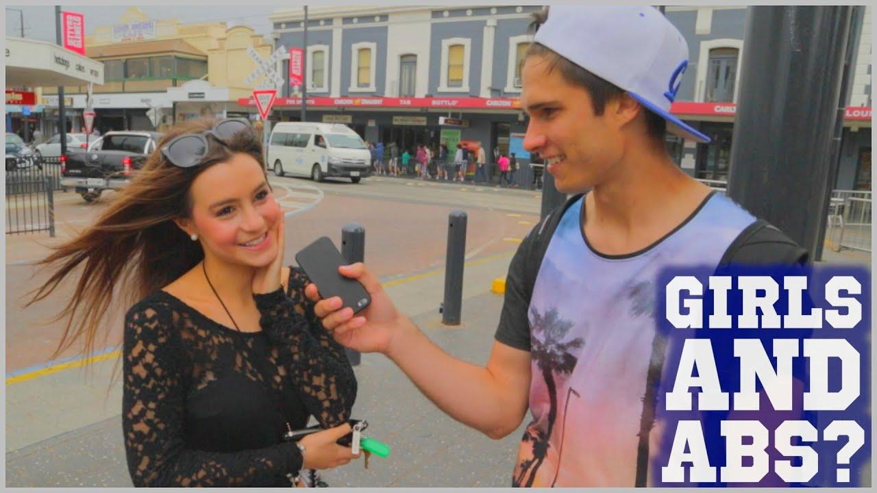 WHY GIRLS LOVE GUYS ABS! - YouTube