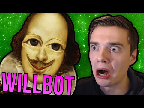 TALKING TO WILLIAM SHAKESPEARE BOT! (Cleverbot Will / Existor Willbot Funny Moments)
