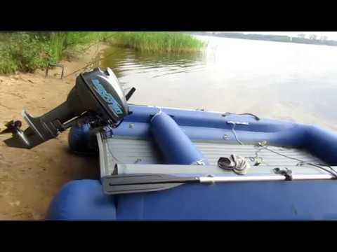 порядок накачивания лодки с нднд