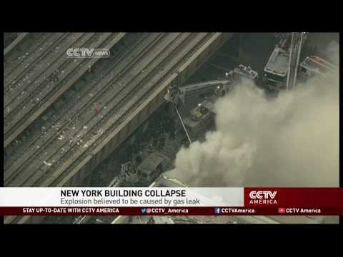 Gas Leak Explosion in New York