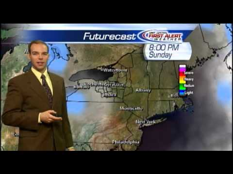 Meteorologist Matt Stevens Saturday morning weather forecast 12-29-2012
