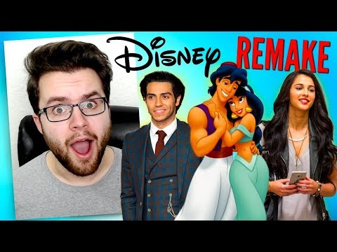 Disney's Live Action Aladdin REACTION - Everything We Know So Far Movie REVIEW