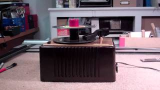 RCA 45-EY-2 Restored 45 RPM record player